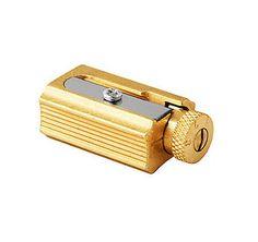 Adjustable Brass Pencil Sharpener