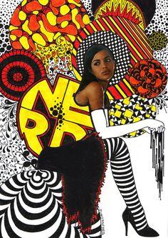 collage -Nikki Farquharson Draws