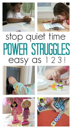 quiet time tips for toddlers. Great advice for parents