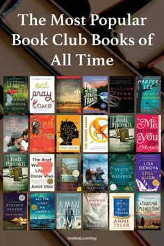Featuring a blend of literary fiction, historical fiction, thrillers, memoirs, and more, this list is full of buzzy book club books for all types of readers. #books #bookclub #bookclubbooks