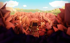 Low Poly Art on Behance