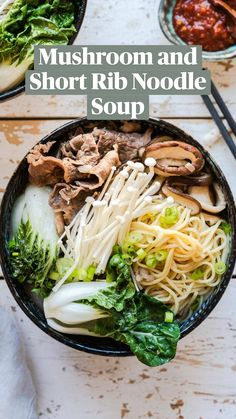 K Food, Beer Food, Vegan Food, Healthy Soup Recipes, Lunch Recipes, Dinner Recipes, Asian Cooking, What's Cooking, Easy Weeknight Meals