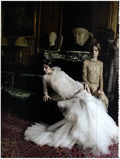 Valentino haute couture – ad campaign, fall/winter 2011/12 Vogue Italy – september 2011