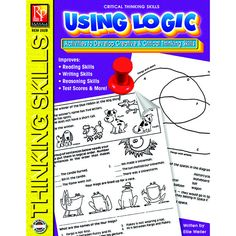 Improve critical thinking skills and you're sure to improve reading comprehension, problem solving, writing skills and more! This book is part of the Critical Thinking Skills Series that includes over