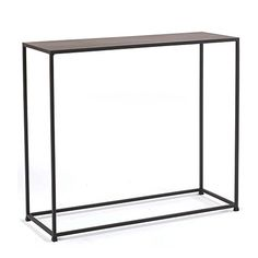 tag - Urban Console Table, A Perfect Addition to Any Home, Mild Steel Top with Coco Finish
