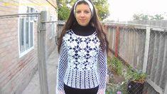 Вязание крючком из мотивов ч.2. Crochet motifs of part 2 .