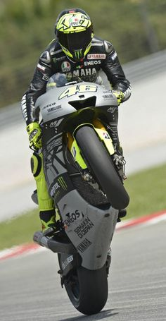 Valentino Rossi... THIS I will gladly ride the back seat! ;)
