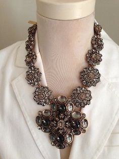 Oscar de la Renta Swarovski Statement Pendant Necklace retails for $1490!!