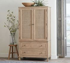 Shop Pottery Barn for wooden bedroom furniture. Browse our Sausalito Bedroom Collection and find expertly crafted and stylish wooden beds, dressers and nightstands. Wooden Bedroom, Wooden Beds, Wicker Bedroom Furniture, Outdoor Furniture, Furniture Layout, Furniture Ideas, Furniture Design, Extra Wide Dresser, Tall Dresser