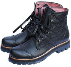 Rauch Zapatos - San-isidro - Mujer - -Borcego Matelasse Negro