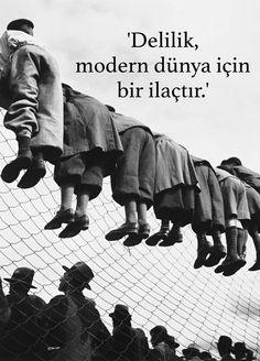 Delilik, modern dünya için bir ilaçtır. - Charlie Chaplin #sözler #anlamlısözler #güzelsözler #manalısözler #özlüsözler #alıntı #alıntılar #alıntıdır #alıntısözler