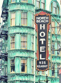 Wander around North Beach (similar to Little Italy in NYC) San Francisco North Beach San Francisco, Baie De San Francisco, San Francisco Girls, San Francisco City, San Francisco California, Places In California, California Dreamin', Northern California, Vintage Neon Signs