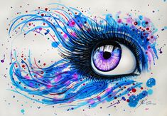 In my eyes by PixieCold on deviantART  leave me alone i like eyes...
