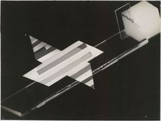 László Moholy-Nagy, Photogram, 1925–26