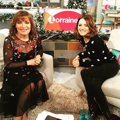 Thanks to the multi-talented @kara_tointon for joining us on the show this morning to discuss brand new eight-part drama series #TheHalcyon #KaraTointon #actress #LorraineKelly #ITVLorraine