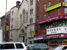 A church in Chinatown
