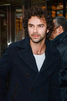 SAME COAT as Poldark publicity photos!/ December 7, 2012 - NYC - 157944550 - Aidan Turner United Gallery