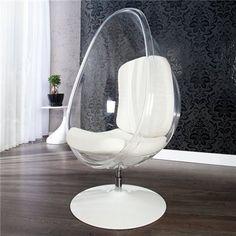 Fotel Space Eggy clear Men In Black, Lounge Design, Egg Chair, Decoration, Hanging Chair, Retro, Teak, Interior, Furniture