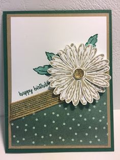 "I had some time today to play with the ""Daisy Delight"" set that I have wanted since the first day I saw it in the catalog. I wasn't the o..."