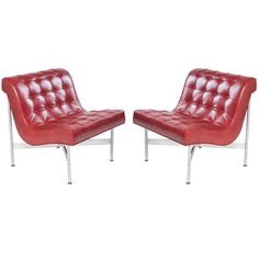 Katavolos, Littell and Kelley Lounge Chairs for Laverne, Int'l., ca.1953