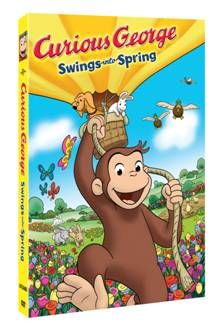 Curious George: Swings into Spring Giveaway (ends 4/1)