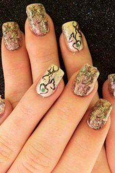 Nail designs on Pinterest | Country Nails, Cute Nails and Camo Nails