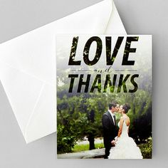Celebrate your favorite moments with gorgeous thank you cards.