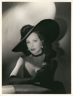 Beautiful Hedy Lamarr