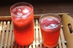 Rose lemonade is a cool refreshing drink on this hot summer day. It is really hot in my place and i am making lots of cool drinks. Sabja...
