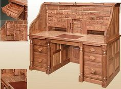 Another roll top desk.