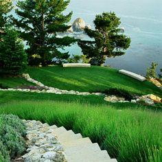 Big Sur garden by Blasen Landscape Architecture