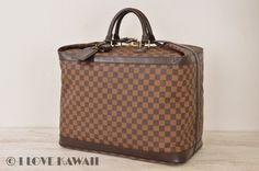 Louis Vuitton Damier Ebene Grimaud Travel Bag N41160