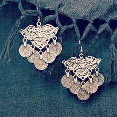 Denizli Gypsy Coin Earrings