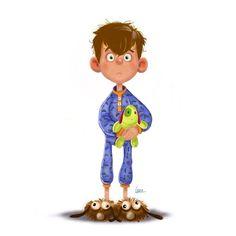 #leiremartin#characterdesign#digitalart#cartoon#gus#kid