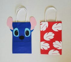 Lilo and Stitch Party Favor/Gift/Goodie Bags by PartyRockinEvents