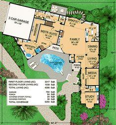 Palais Dumon - House Plan - Italian - First Floor | House Floor ...