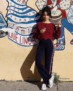 Camila Cabello ❤ love the place ! Mode Outfits, Casual Outfits, Fashion Outfits, Mode Ootd, Camila And Lauren, Fangirl, Outfit Goals, Lany, Look Fashion