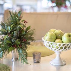 Festive edibles from the harvest. #sharethebounty #ShopPAllen #joy #mossmountainfarm #orchard #garden #yuletide #apple