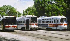 SEPTA PCC,LRV&NEOPLAN BUS
