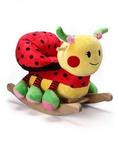 Look what I found on #zulily! Rockabye Lulu the Ladybug Rocker by Rockabye #zulilyfinds