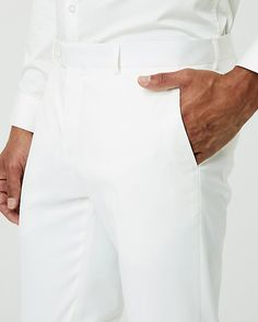 Twill Slim Leg Pant - Complete an effortlessly dapper look with this slim, twill pant. Twill Pants, Slim Legs, Dapper, Chef Jackets, Mens Tops, Style, Fashion, Thin Legs, Swag