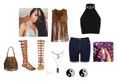 Festival by rcavondra on Polyvore featuring polyvore, moda, style, Miss Selfridge, VILA, Oasis, Journee Collection, Accessorize, fashion and clothing #Coachella