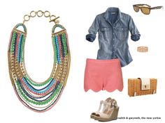 """The Stella & Dot - Zahara Bib Necklace as featured on the """"Meredith & Gwyneth, the New Yorkie"""" blog"""