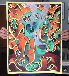 Melvins Poster by Dave Kloc