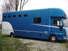 This 2004 #Ford Iveco #horsebox carries up to four horses | For #sale on #HorseDeals