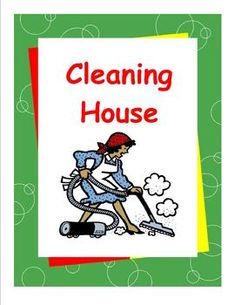 """Cleaning House"" is part of Susan Traughs Daily Living Skills series offering transitional skills for mild-to-moderately affected special needs students and general education students alike.  Written on a high third/low fourth grade level with airy-pages and bullet-point information for easy independent study, these books, nevertheless, respect teens maturity and humor while presenting federally mandated, Indicator 13 skills needed for adult independence."