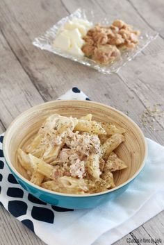 Pasta fredda tonno e philadelphia Dulcisss in forno by Leyla