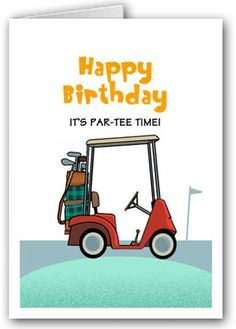 Free Golf Greeting Cards
