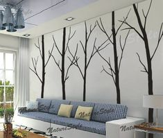 Wall Decal tree wall decal nursery wall decal baby by NatureStyle