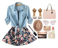 """""""Untitled #248"""" by princess-of-trenzalore ❤ liked on Polyvore featuring MICHAEL Michael Kors, Le Specs, Satya Twena, Red Camel and Marc Jacobs"""